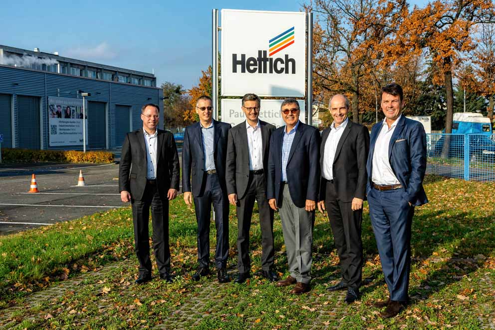 Andreas Hettich leading the Hettich Group as Chairman of the Advisory Board