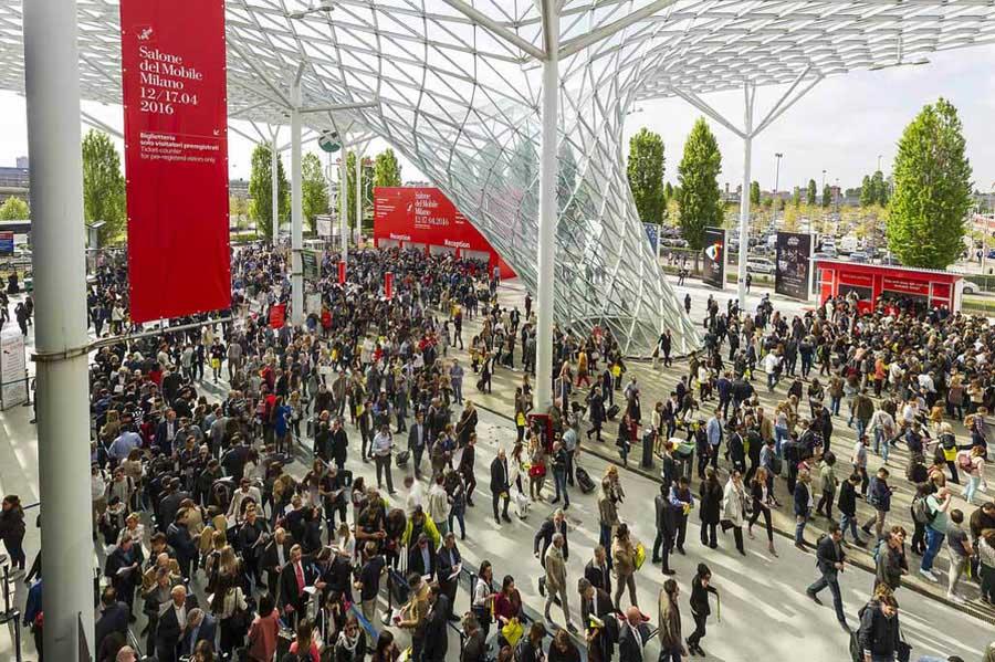 Un grande successo per il Salone del Mobile.Milano