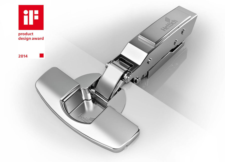 Le cerniere per mobili Hettich insignite dell'iF Product Design Award 2014 1