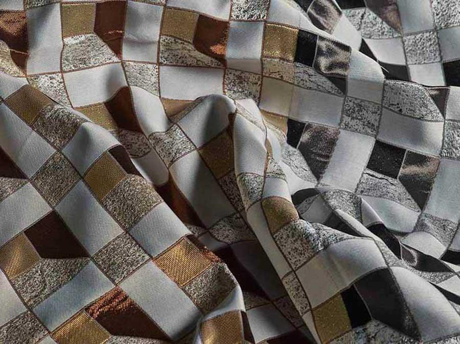 Nouvelle collection textile pour ameublement Sicis