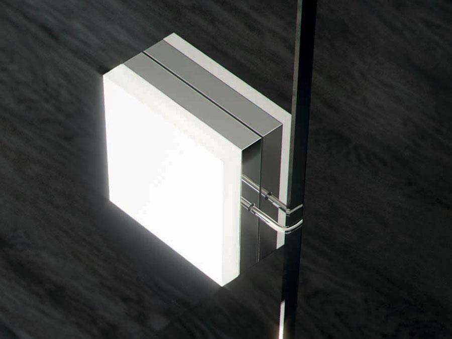 Gli apparecchi di illuminazione Loop e Pulse di Domus Bath 602
