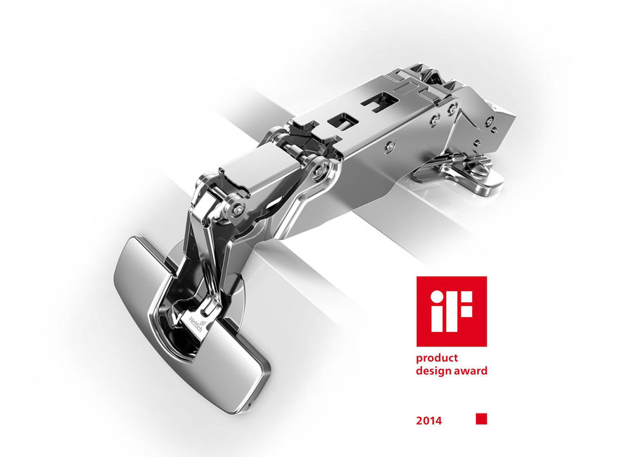 Le cerniere per mobili Hettich insignite dell'iF Product Design Award 2014 0