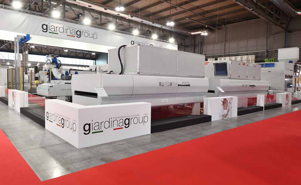 Les machines et le technologies Giardina Group exposées au salon Xylexpo 2018