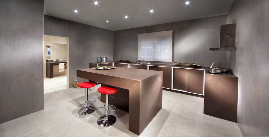 Technological surfaces Dekton and Cosentino Silestone Group
