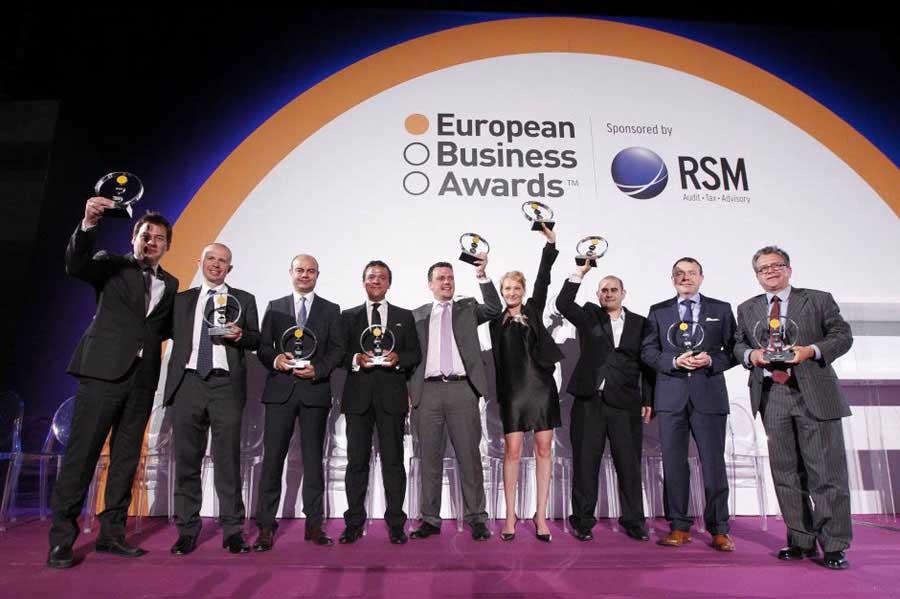 Il Gruppo Cosentino premiato con l'European Business Awards 2013-2014 nella sezione Import/Export 0