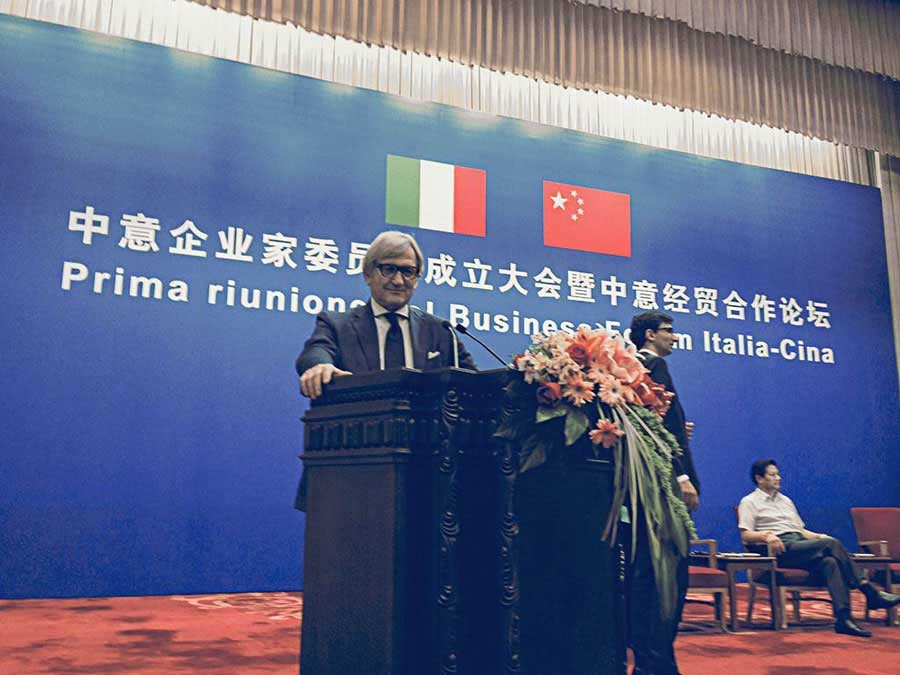 Italien-China Business Forum