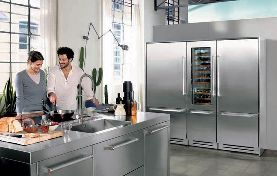 Refrigerators and wine cellars Vertigo wine of KitchenAid