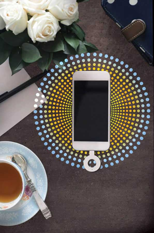 DuPont™ Corian® Charging Surface 0