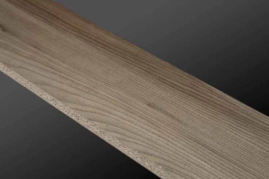 Wood veneer Olmo Sylver of Profili Crocco