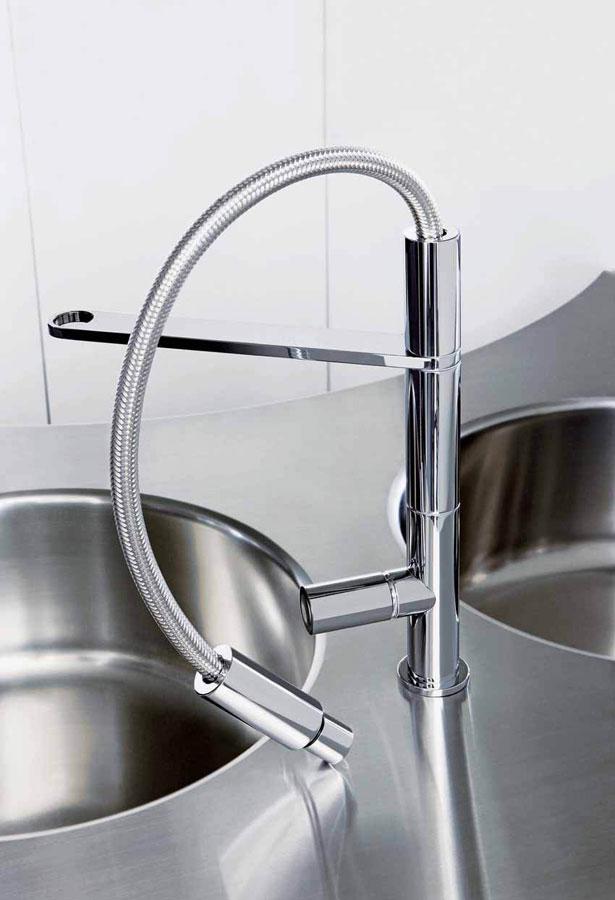 Design e innovazione nei rubinetti da cucina Fima kitchen 2