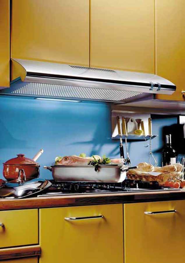 Vortice presenta le cappe da cucina vortex - Vortice aspiratori per cucina ...