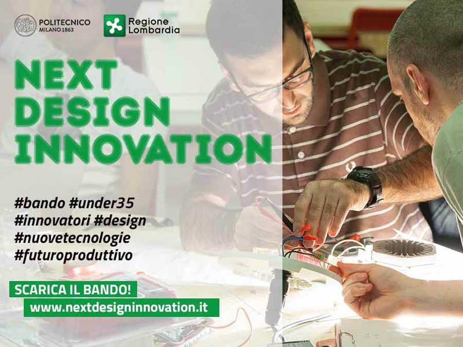 Next Design Innovation: un concorso per giovani progettisti