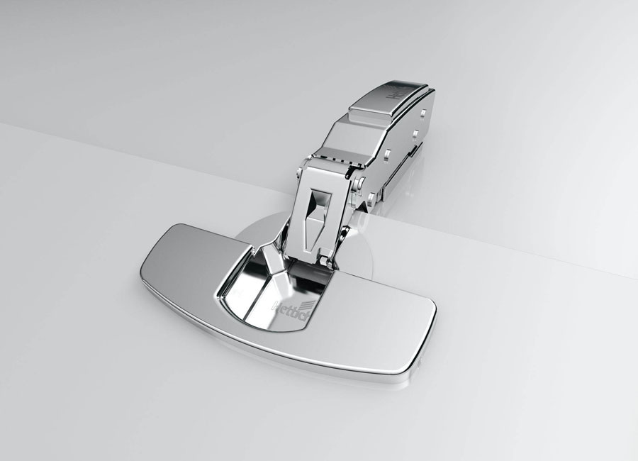 From the Hettich Sensys hinge quick-mount