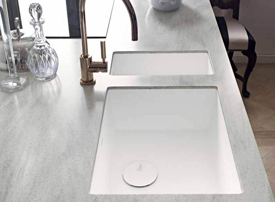 La nuova collezione di lavelli per l'ambiente cucina DuPont™ Corian® 3