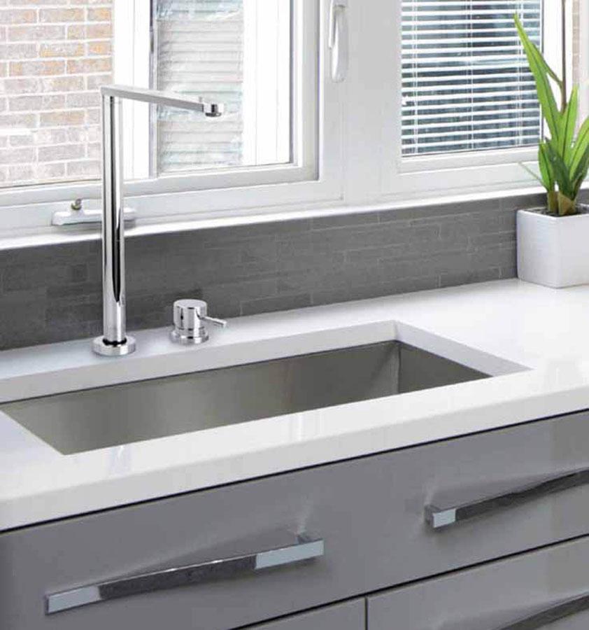 Design e innovazione nei rubinetti da cucina Fima kitchen