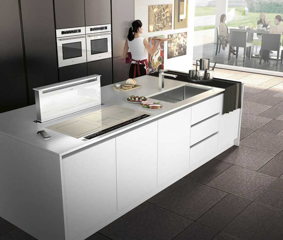 The new induction hobs Fulgor Milan