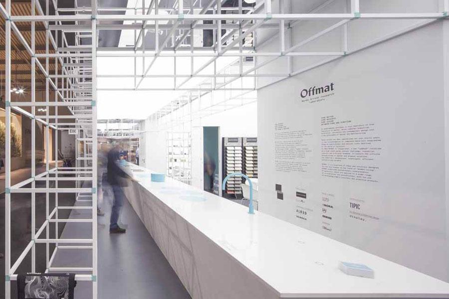 Offmat: il laboratorio di ricerca di Marmo Arredo  2