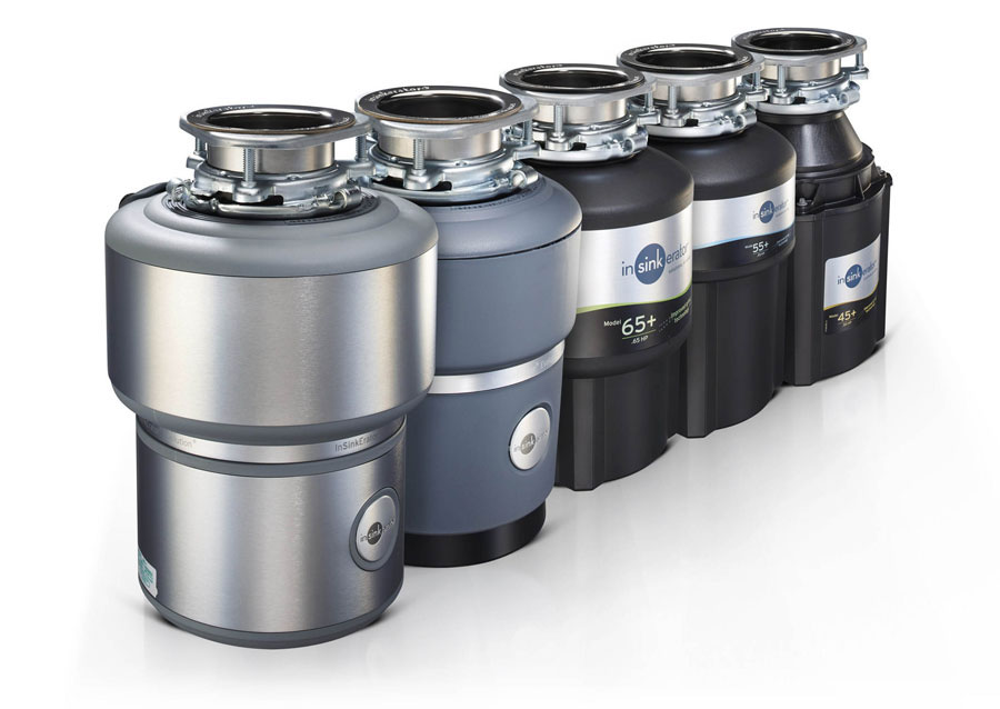 AT SICAM THE NEW INSINKERATOR food waste disposers 3
