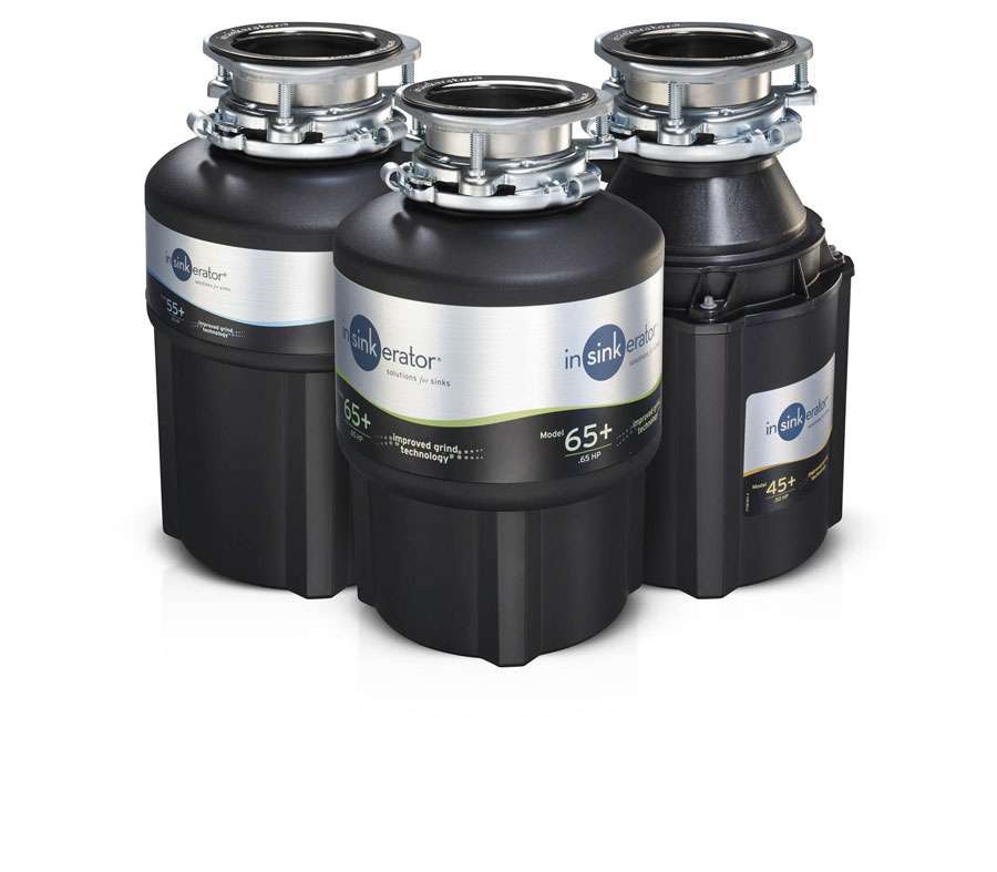 AT SICAM THE NEW INSINKERATOR food waste disposers