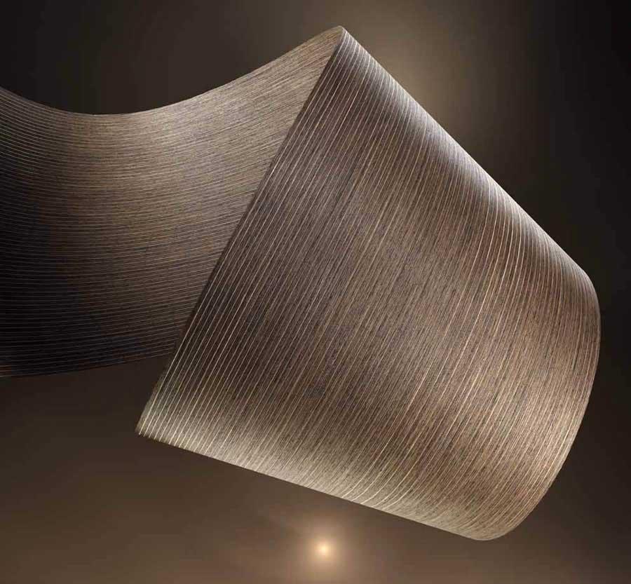 Silver Rail: la nuova superficie decorativa in legno di Alpi  0