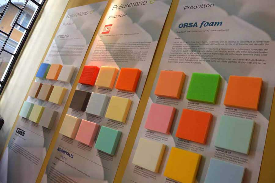 Soft Design - Poliuretano è: au Fuorisalone pour communiquer les qualités du polyuréthane détendu flexible