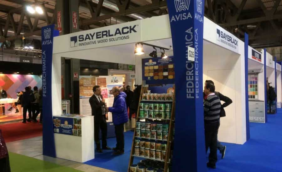 Successo di Sayerlack e Linea Blu a Made Expo 0