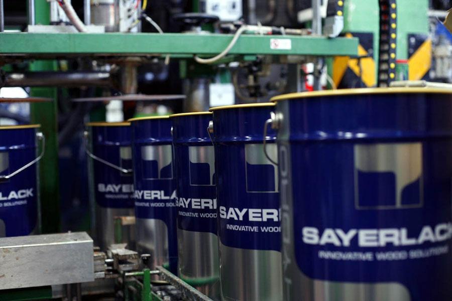 Nuovo converter acrilico Sayerlack