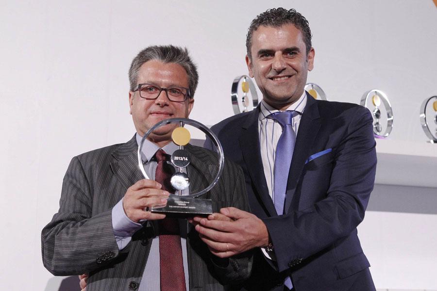 Il Gruppo Cosentino premiato con l'European Business Awards 2013-2014 nella sezione Import/Export