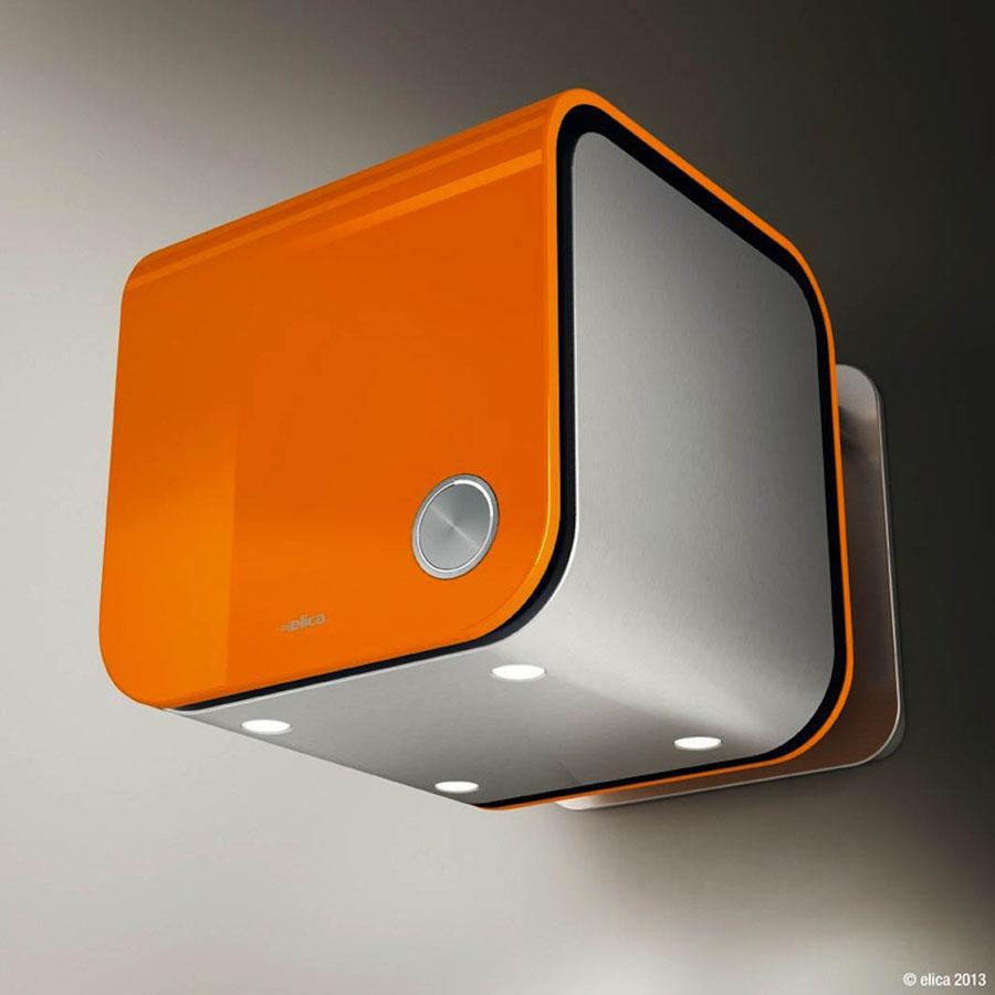 La cappa 35CC di Elica: un oggetto di design dal cuore tecnologico, di piccole dimensioni e formato compatto 0