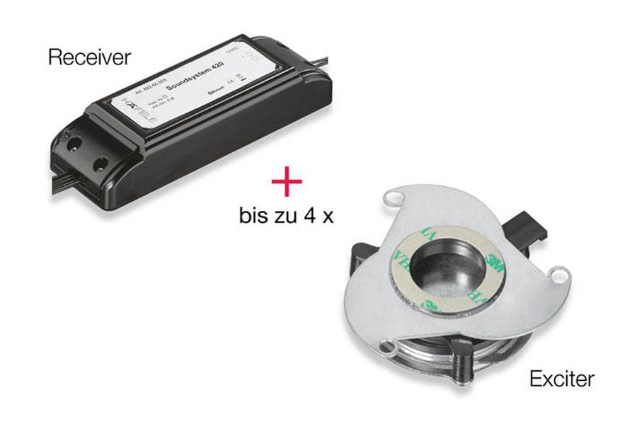 Sistemi audio per mobili di Häfele  1
