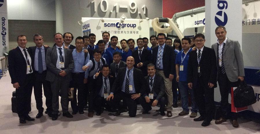 La qualità di SCM Group conquista l'Asia 0