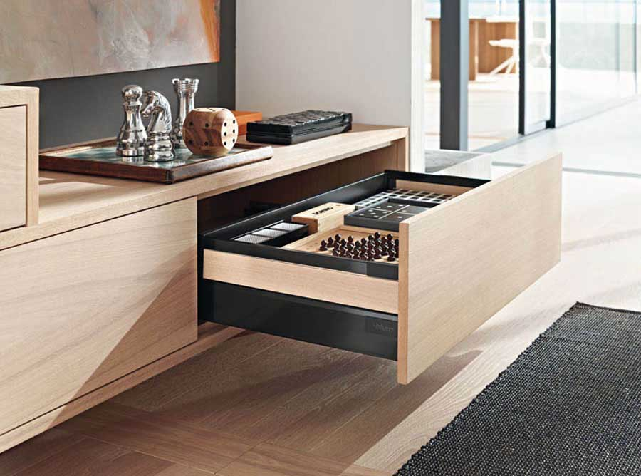 Nuovo sistema box di Blum: Legrabox, eleganza in movimento