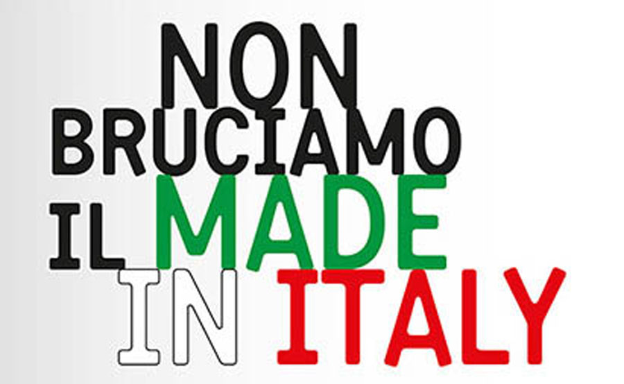 Do not burn the Made in Italy - Wood Action Days