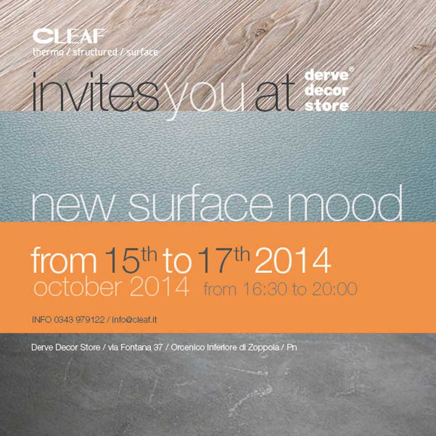 "Cleaf presenta ""New Surface Mood"" 144"