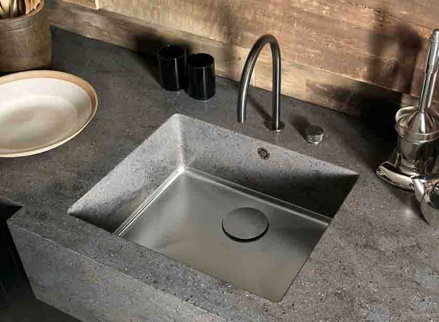 The new collection of sinks for cooking environment DuPont™ Corian®