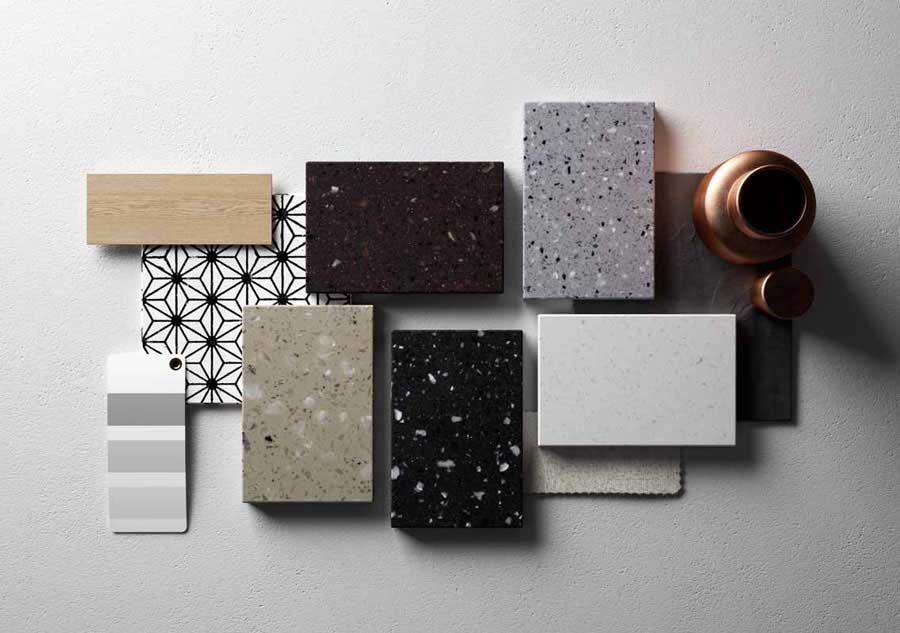"Lucia collection, HI-MACS® ""solid surface"""