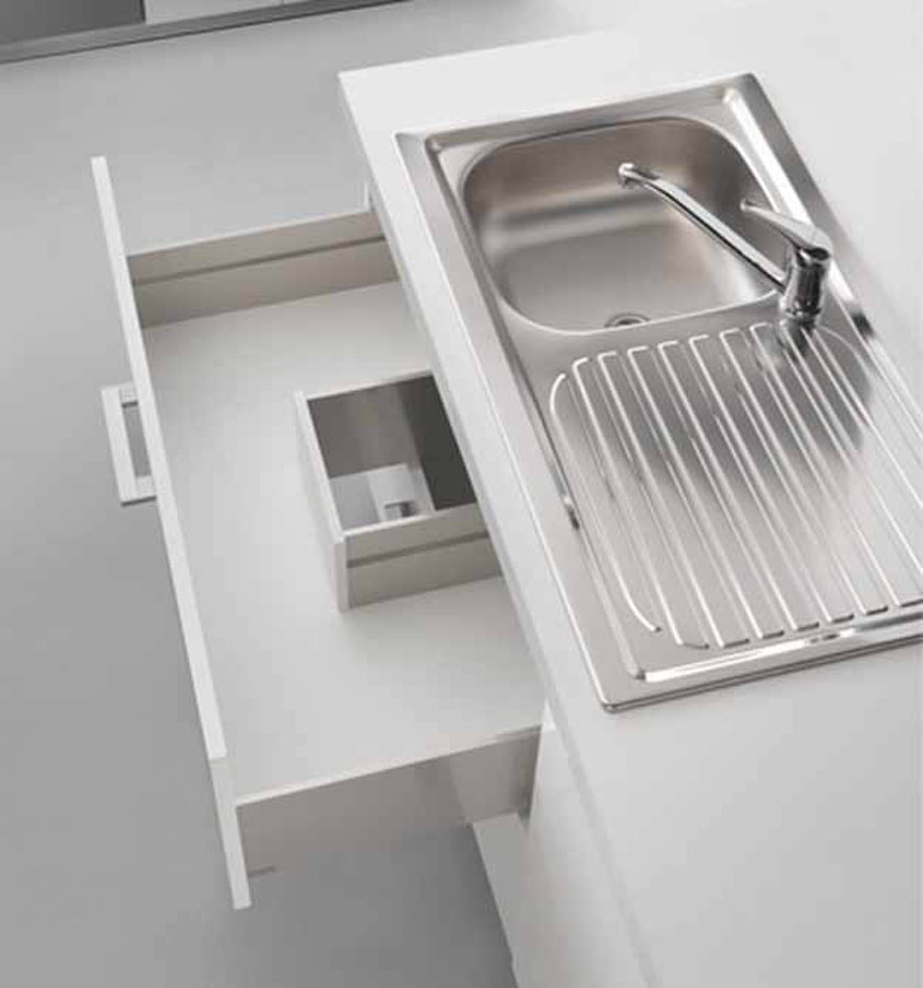 Lineabox, the new metal drawer system from Salice 3