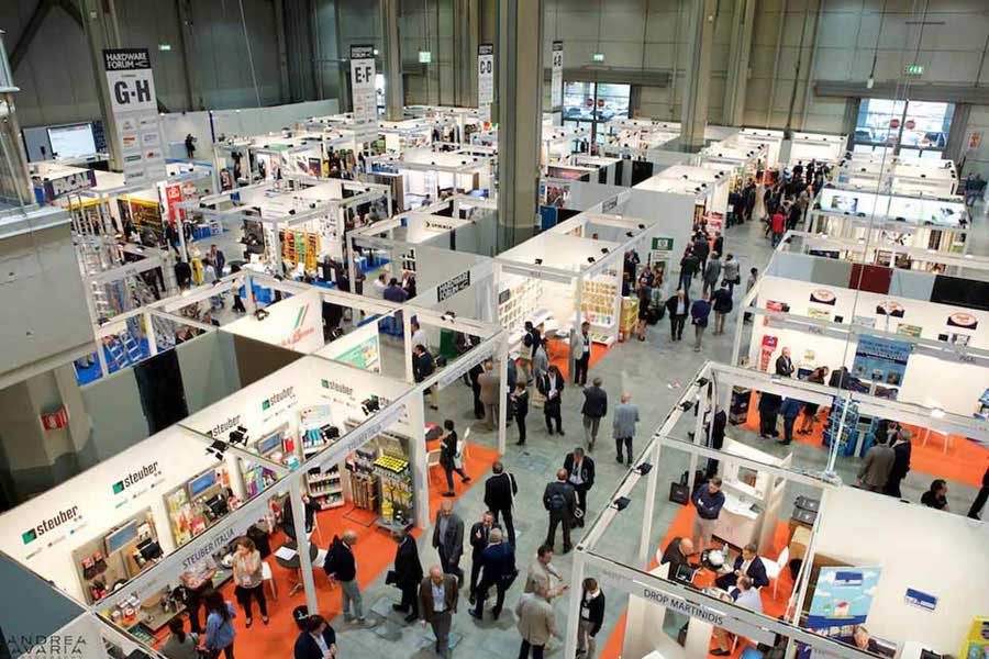 À Milan Hardware Forum, exposition congrès des Quincailleries 0
