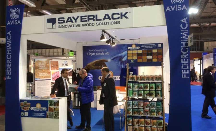 Successo di Sayerlack e Linea Blu a Made Expo
