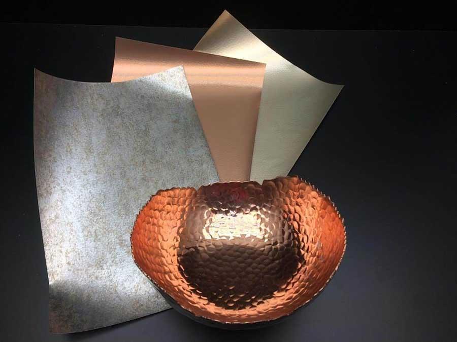 Foglie di rivestimento Hybrid Real Metal Foils di Kröning