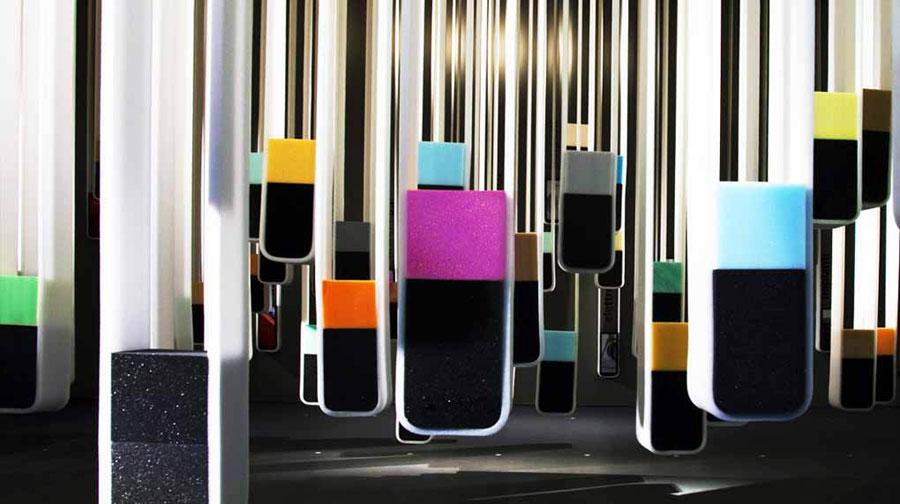 Soft Design - Poliuretano è: al Fuorisalone per comunicare le qualità del poliuretano espanso flessibile 0