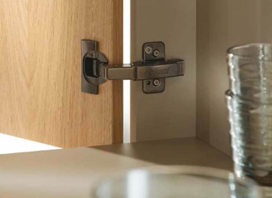 The Hinge Clip Top Blumotion Onyx Black By Blum
