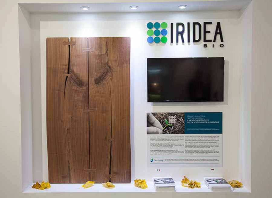 Iridea Bio water-based coatings by the ICA Group
