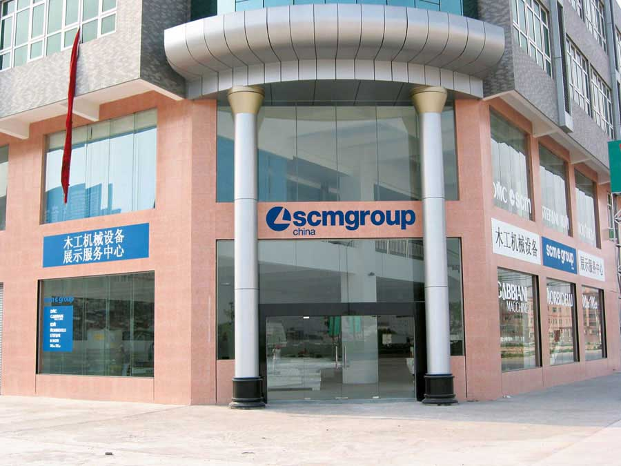 The quality of SCM Group conquers Asia