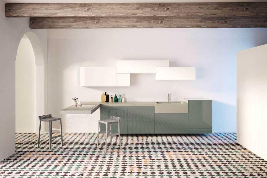Stone Italiana e Lago Kitchen propongono Monolito 1