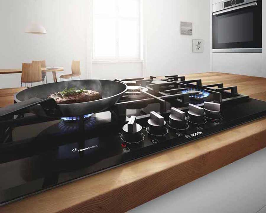 New gas hobs FlameSelect of Bosch Elettrodomestici