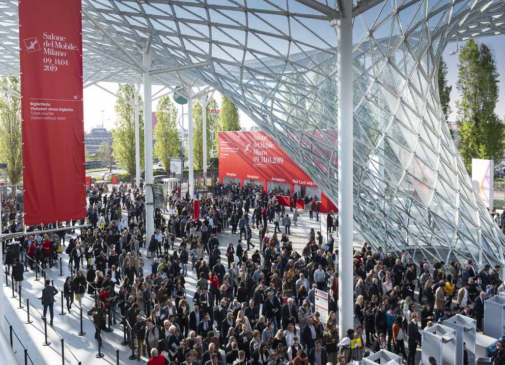 Salone del Mobile.Milano 2019: visitors and business are growing 10366