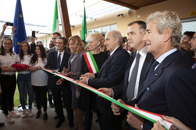 The new headquarters of the wood furniture training centre was inaugurated