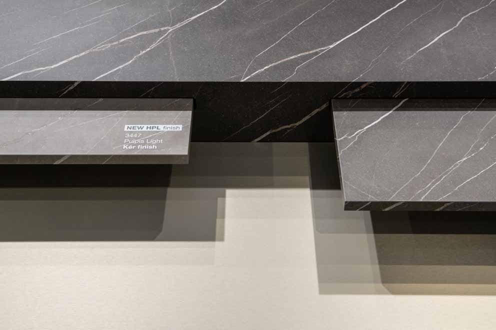 The new Arpa HPL and Fenix at Sicam 2018: material contrasts and integrated solutions