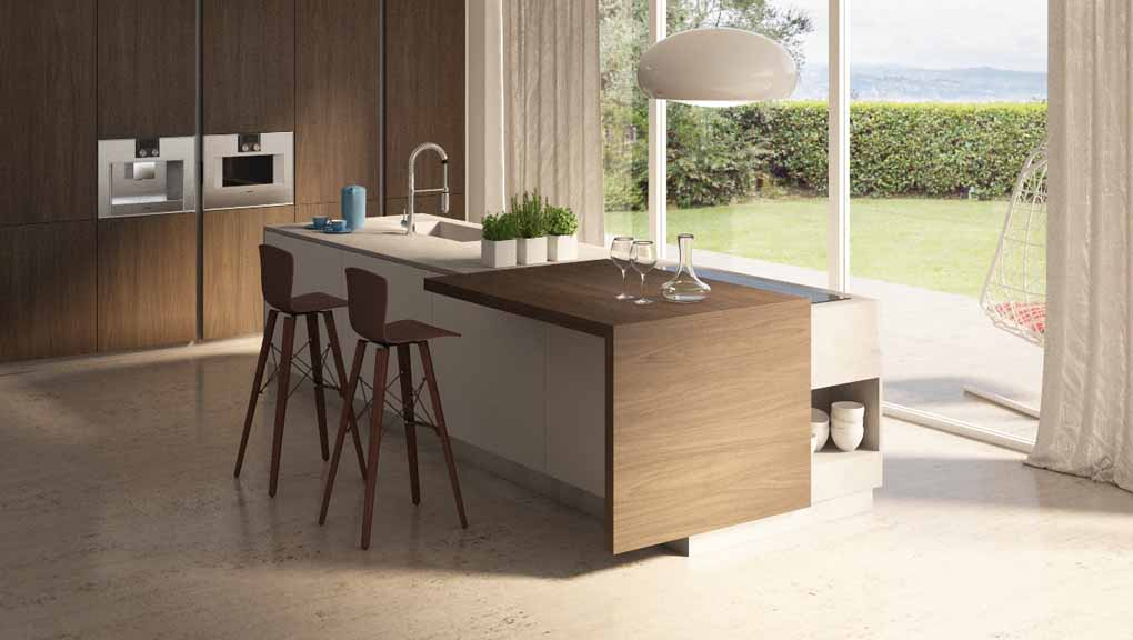 Atim: two novelties for breakfast bars and removable counters